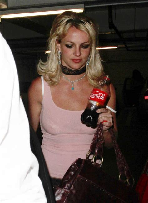 Britneys Bra Showing by Looks Like A Middle Aged 6 Pics