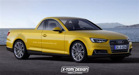 audi ute think of this as the audi a4 ute and it might look less