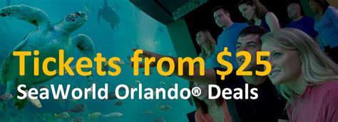 orlando promotion codes and discounts orlando deal seaworld theme park discount tickets