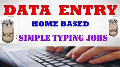 Make Money Online Data Entry Jobs Without Investment - data entry jobs work from home without investment make money online data entry