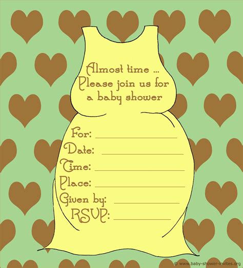 20 Printable Baby Shower Invites Baby Shower Downloadable Templates