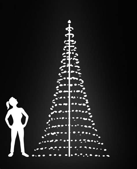 flagpole christmas tree 13ft montejaur lights