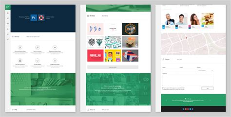 scrollside one page parallax scrolling template