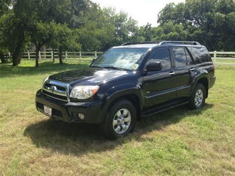 2007 Toyota 4runner Mpg Purchase Used 2007 Toyota 4runner Sr5 Sport Utility 4 Door