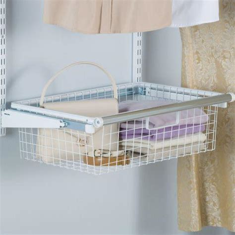 Closet Organizers Wire Baskets by Rubbermaid Configurations Custom Closet Add On