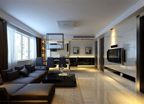 Living Room And Dining by Modern Living Dining Rooms 2013 3d House