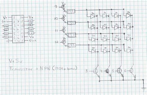 led matrix wiring diagrams repair wiring scheme