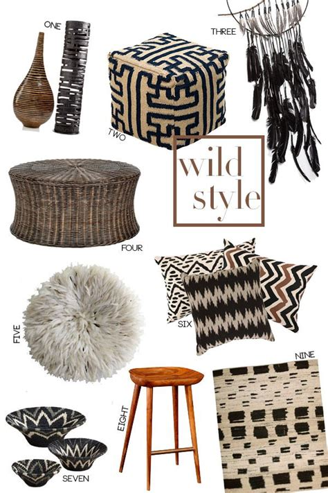 wild style tribal and ethnic home decor casa de thomas