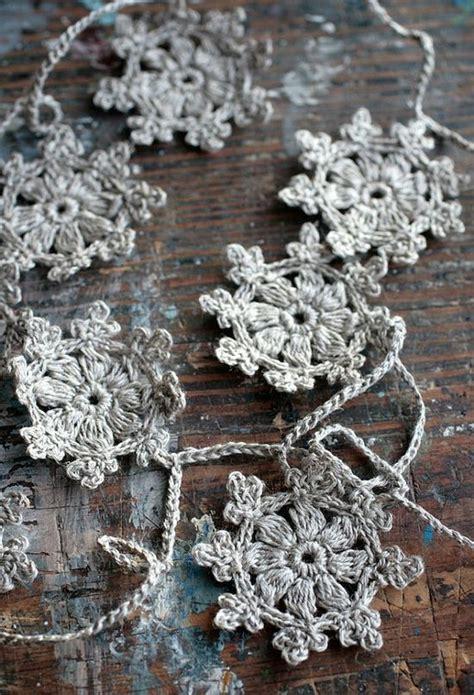 crochet pattern snowflake garland phone reviews blog crochet garland snowflake garland