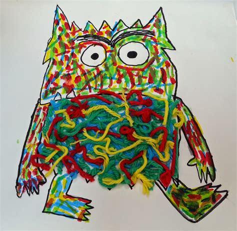 el monstruo de colores pintando sonrisas de colores el monstruo de colores