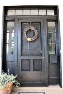 Best Black Paint For Front Door 25 Best Ideas About Doors On Painted Door Glass Doors And Front