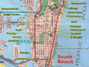 Miami South Beach Map by South Beach Miami Condo Map Miami Beach Condo For Sale