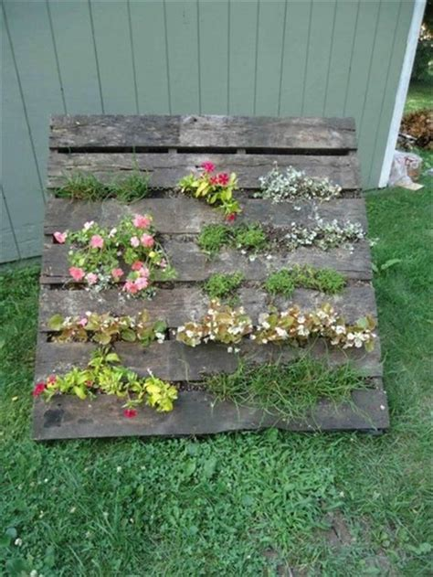 Pallets Garden Ideas with Pallet Ideas Garden Dump A Day