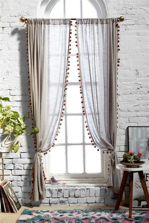 hang sheer curtains 35 creative ways to hang curtains like a pro bored art