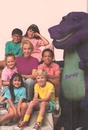 barney and the backyard gang cast barney the backyard gang barney wiki