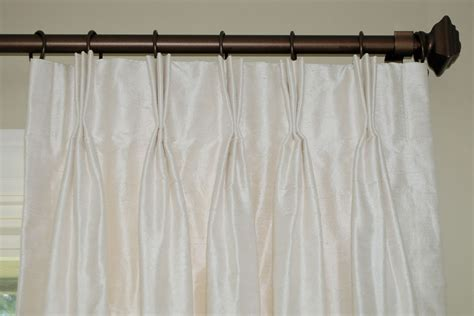 how to make drapery pleats pinch pleat curtains
