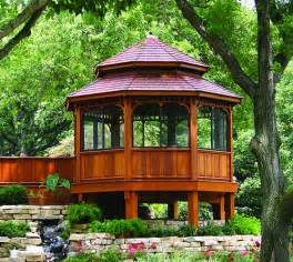 Design Ideas For Hton Bay Pergola Outdoor Gazebos Deck Plans Jpg Backyard Oasis Outdoor Gazebos
