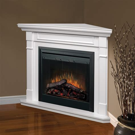 Corner Fireplace With Mantel by Dimplex Free Standing Corner Wall Mantel White At Hayneedle