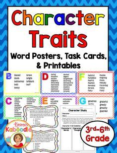 character trading cards template 3rd grade 1000 images about kirsten s teachers pay teachers store