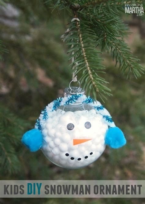 glitter snowmen ornaments allfreechristmascraftscom