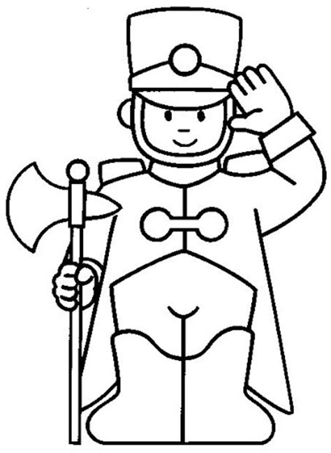 coloring page guard free coloring pages of guard