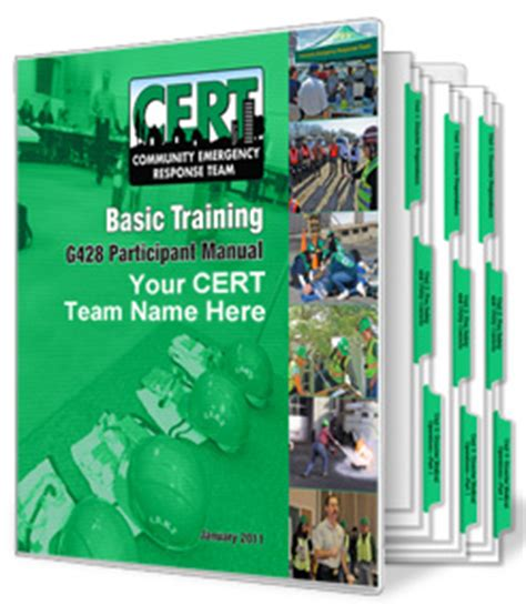 cert basic participant manual books community emergency response teams cert