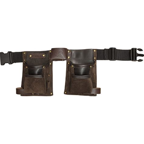 childrens tool belt personalised deluxe brown