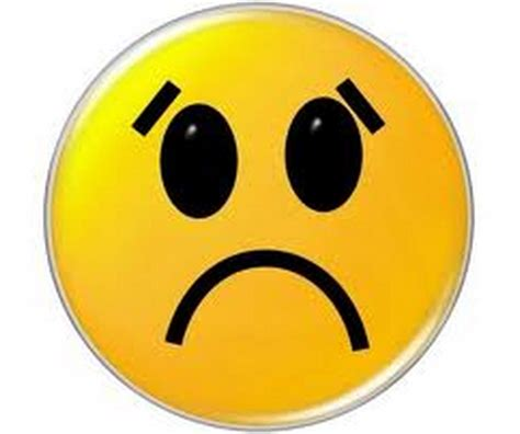 emoji sad face emoticons on facebook whatsapp and texts from the smiley