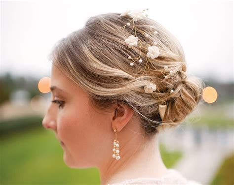Flower Hair Accessories For Weddings by 20 Wedding Floral Crown Bridal Hair Accessories Wedding