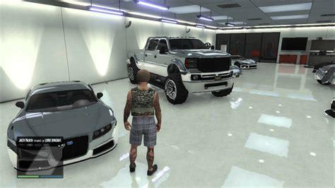 cocheras gta v gta v online garage cromado todos los mejores carros