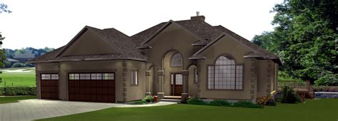 Bungalows 60 Plus Ft By E Designs 3 Bungalow 2 Car Garage House Plans