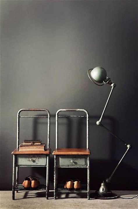 matte black walls matte black walls jielde l swoon chez moi pinterest industrial chair chairs and