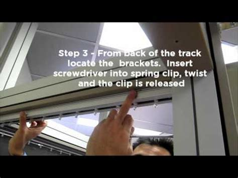 How To Remove Blinds From Window Frame vertical blind removal