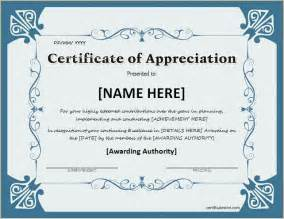 Thank You Certificate Template Word by The 25 Best Ideas About Certificate Of Appreciation On