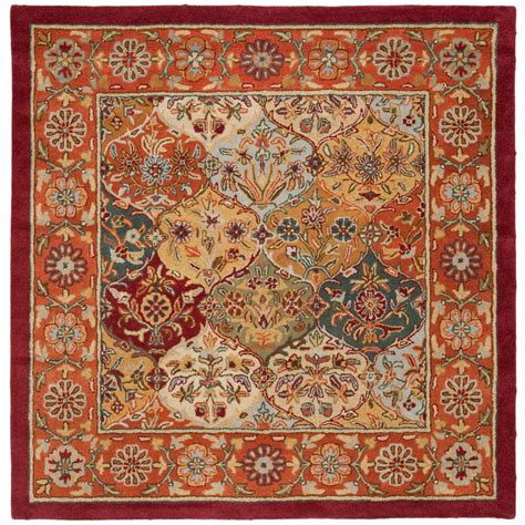 Safavieh Heritage Rug by Safavieh Heritage Multi 4 Ft X 4 Ft Square Area Rug