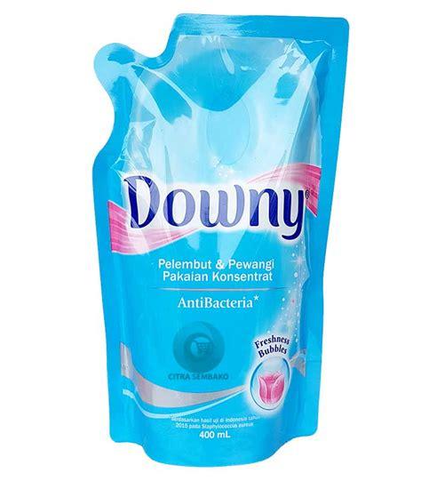 Downy Anti Bacteria Reffil 400ml downy anti bacteria pouch 400ml citra utama sembako