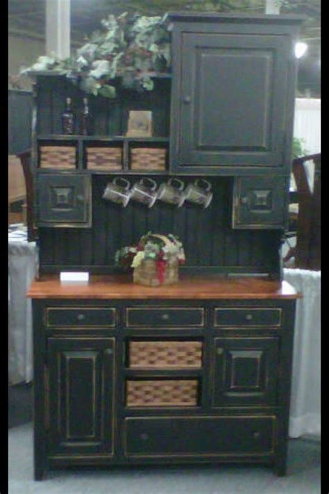 Primitive Dining Room Cabinets Details About Amish Kitchen Hutch Pantry Cabinet Primitive
