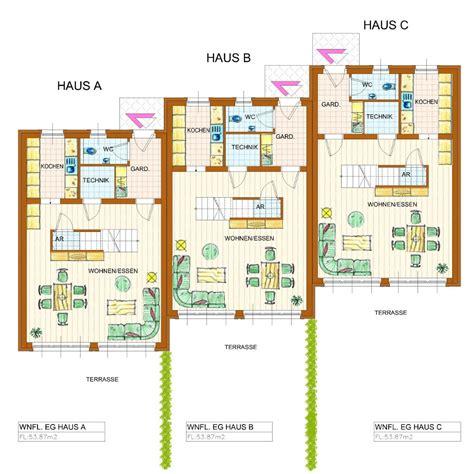reihenhaus grundriss hausbauen eines massivhaus in kitzb 252 hel und kufstein
