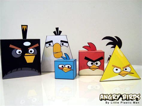 Angry Birds Paper Crafts Gadgetsin angry birds paper crafts gadgetsin