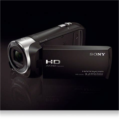 Sony Hdr sony handycam hdr pj240e hd camcorder with built in