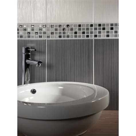 willow grey ceramic wall tile by bct ceramic planet