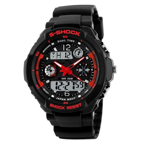 Jam Tangan Sport Lasika Children Rubber mortima jam tangan sporty pria rubber model 17 jakartanotebook