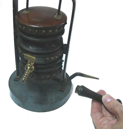Fireplace Bellows For Sale by Ducretet Wood Brass Leather Antique Bellows For
