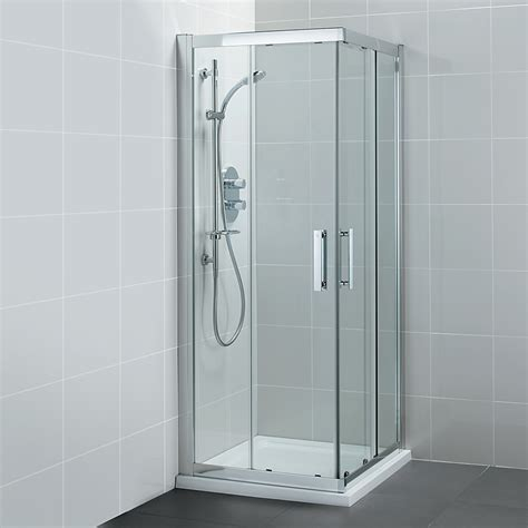 Bathroom Shower Enclosures by Ideal Standard Synergy Corner Entry Shower Enclosure 900mm