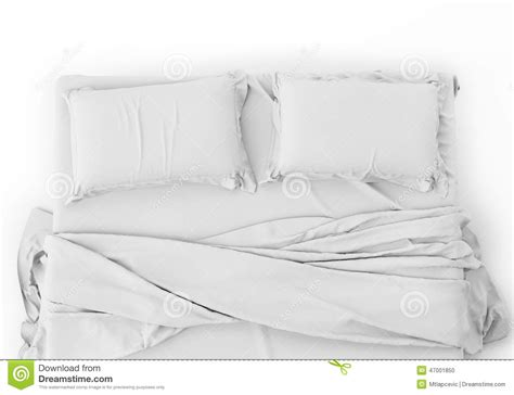 bett hintergrund white bed in empty space isolated on white background