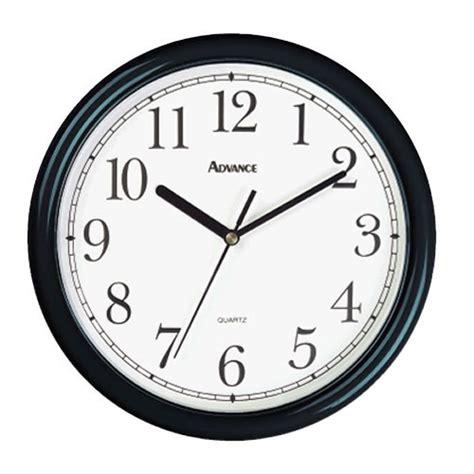 Floor Palnner classroom clock black