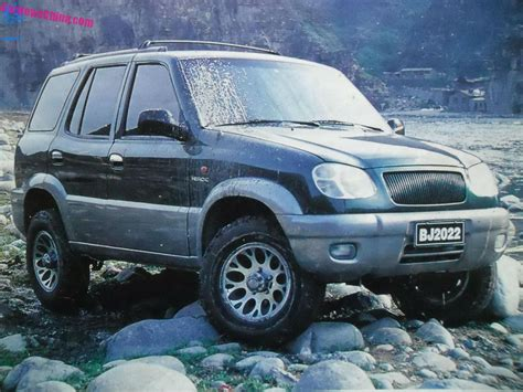 small jeep cherokee china car history the beijing jeep bj2022 heroic is a