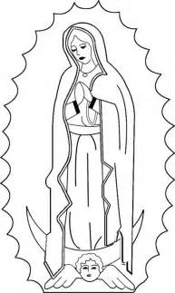 catholic coloring pages 25 best ideas about virgen de guadalupe on