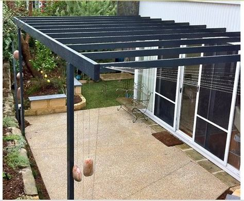 Metal Pergola Uk by Pergola Metal Minimalist Pergolas Pinterest Decks