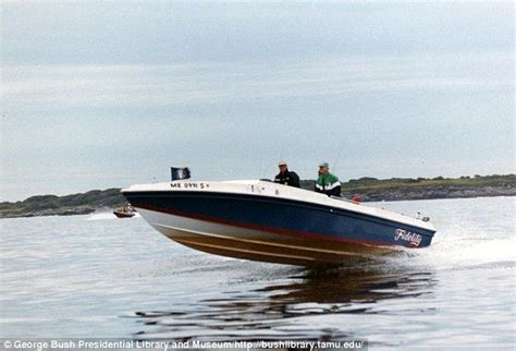rib boat kennebunkport president george bush s cigarette 28 boat keenybunkport